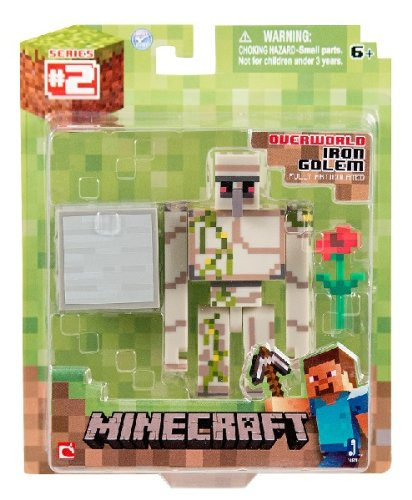 minecraft toy action figure Iron Golem